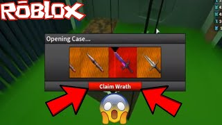 UNBOXING A HEROIC CASE *OPENING WRATH* (ROBLOX ASSASSIN BEST UNBOXING?!)