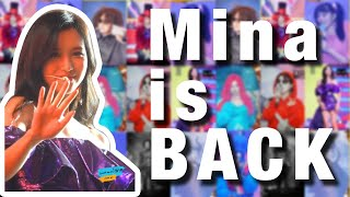Mina is back on stage! | Mina回到舞台啦! [TWICE's 4th-anniversary FanMeet] @ONCE Halloween Seoul