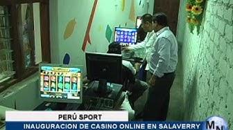 CASINO ONLINE PERU SPORT ABRIÒ SUS PUERTAS  EN SALAVERRY
