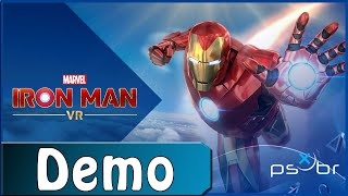 Marvel\'s Iron Man VR (PS VR, Demo) - Gameplay Completo - Dublado PT-BR