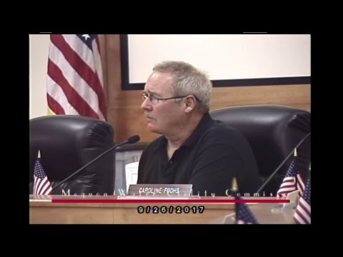 City of Mequon Water Utility Commission  9-26-2017