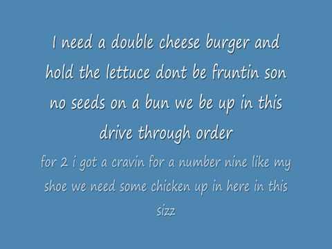 Mcdonalds Rap lyrics