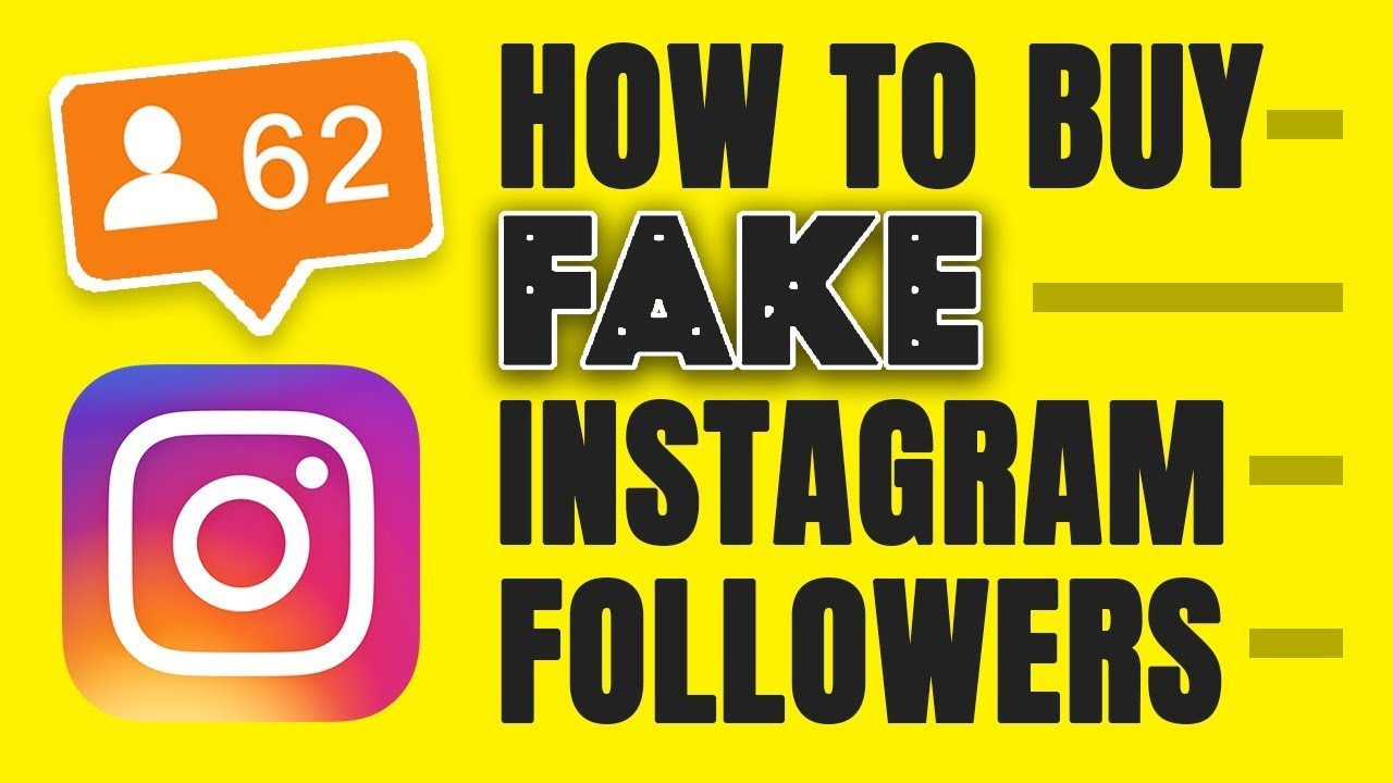 FAKE INSTAGRAM FOLLOWERS - HOW TO BUY THEM AND WHY YOU SHOULDN'T - YouTube