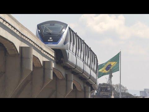 São Paulo Monorail, Monotrilho - New Station Open!