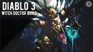 Diablo 3 Level 60 Witch Doctor Build! (SO MUCH DAMAGE!)