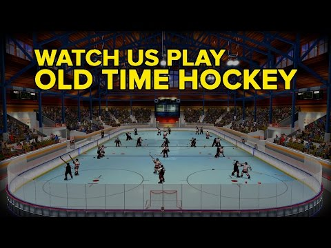 Old Time Hockey Is A Lot Like The Beer League Version Of EA NHL