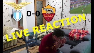 Live reaction | lazio - roma (0-0) | roma fan (english subs)
