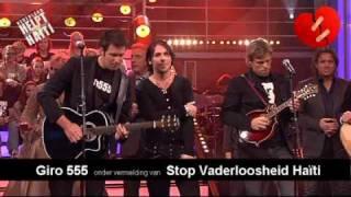 Drenthe helpt Haïti ♥ Geef mij je hand - Jan Smit - Nick en Simon - 3J