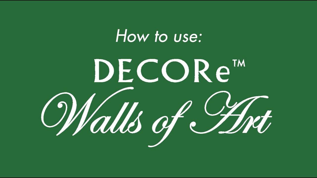 how to use boysen decore - Decore