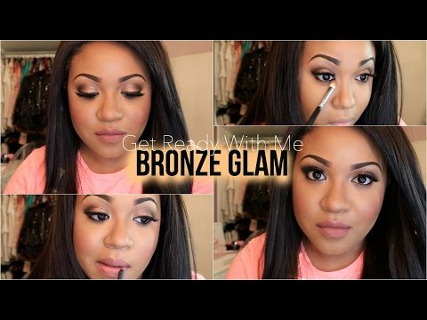 Get Ready With Me | Bronze Glam