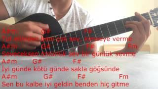 TARKAN - Beni Çok Sev gitar dersi