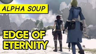 Edge of Eternity gameplay: sci-fi/fantasy JRPG in Final Fantasy style (PC alpha game)