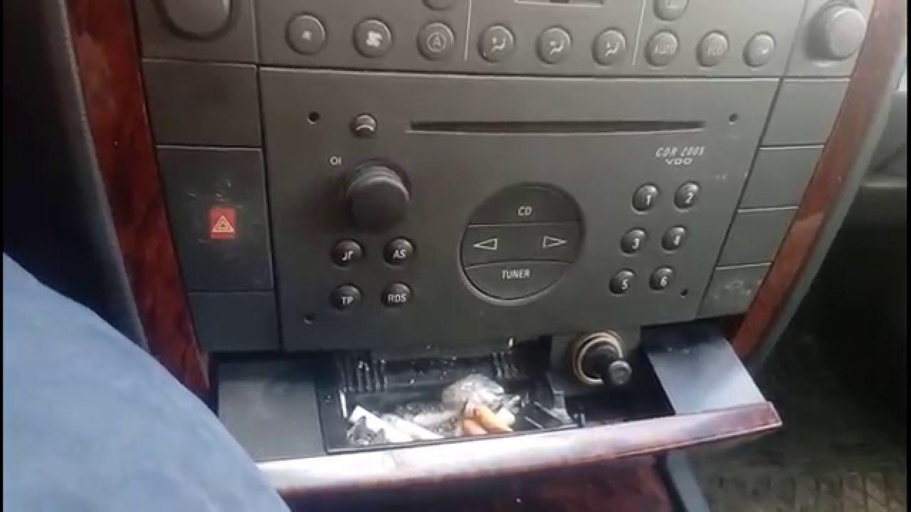 как на опель омега поставить магнитофон