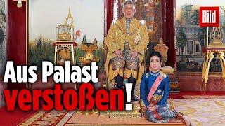 Thai-König entzieht seiner Zweitfrau ALLE königlichen Titel!