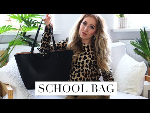 WHAT'S IN MY SCHOOL BAG | Back To Law School/University