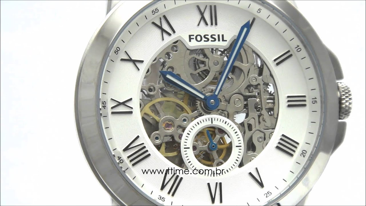 0b91fb2ecc575 RELÓGIO FOSSIL ME3053 0KN - YouTube