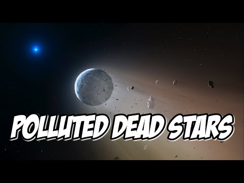Polluted Dead Stars