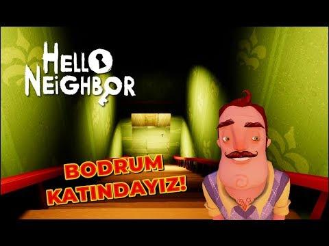 Hello Neighbor | DEVASA BODRUM KATI PART 2 - MODS [Türkçe] #123
