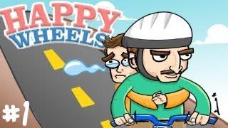 Happy Wheels w/S4GAM3R #1 [ARABIC] | هابي وييلز مع S4GAM3R #1