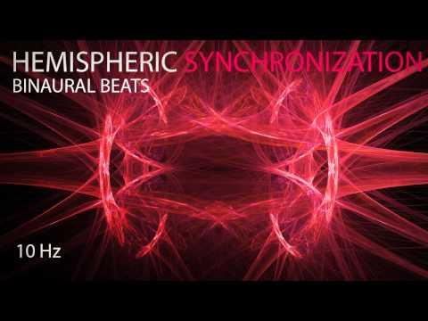 Hemispheric Synchronization - Binaural Beats - 10Hz