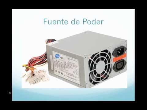 Tutorial componentes internos de una computadora youtube for Interno s