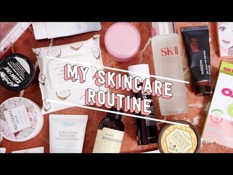 My Updated Skincare Routine 2017 | thatxxRin