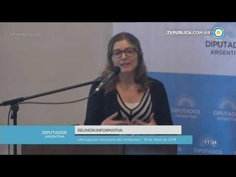 Debate sobre la despenalización aborto en Diputados - 19-04-18 (1 de 2)
