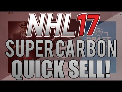 NHL 17 HUT: Super Carbon Quick Sell Set!