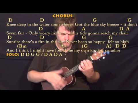 Knee Deep (Zac Brown) Ukulele Cover Lesson with Chords/Lyrics ...