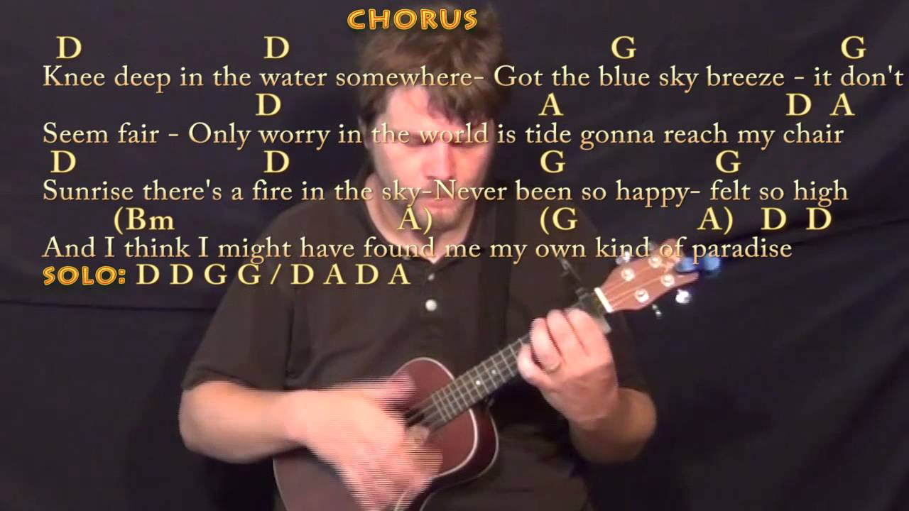 Knee deep zac brown ukulele cover lesson with chordslyrics knee deep zac brown ukulele cover lesson with chordslyrics capo 1st hexwebz Choice Image