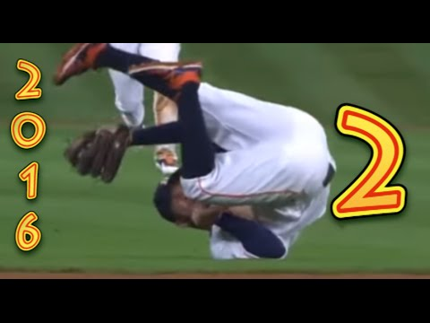 Funny Baseball Bloopers of 2016, Volume Two