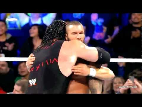 WWE Smackdown - 18 January, 2013 - Randy Orton & Hell No vs Wade Barrett & Rhodes Scholars