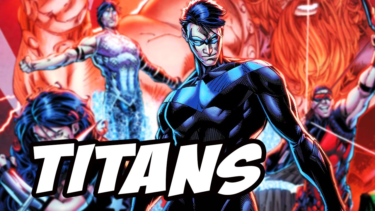 Teen Titans Live Action Tv Show - Dc Streaming Service -5707