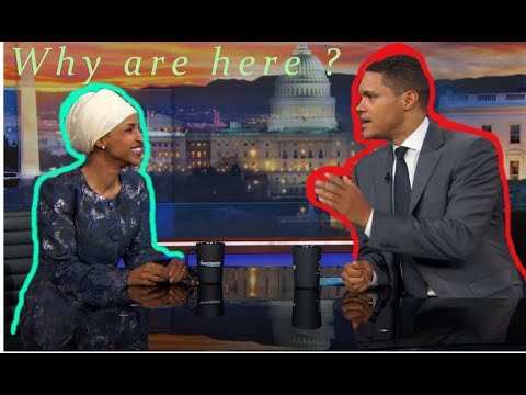 Ilhan Omar Daily show interview