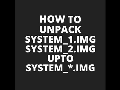Tool Unpack Repack system new dat system img For Windows v3 EP 2