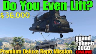 Repo Mission Do You Even Lift In Gta 5 Online