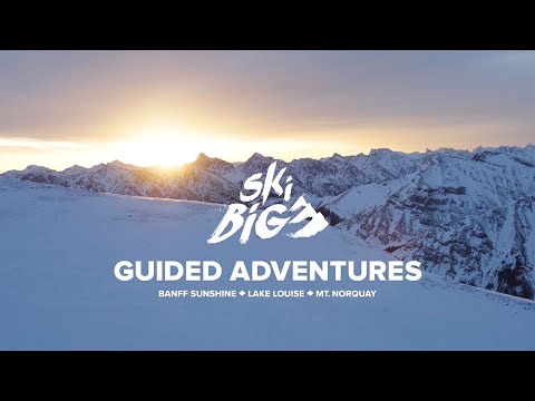 SkiBig3 Lift Ticket for Lake Louise, Sunshine Village & Mt. Norquay - Video