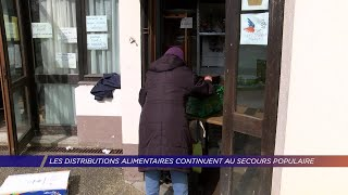 Yvelines | Les distributions alimentaires continuent au Secours Populaire
