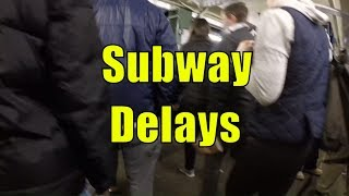 Nightmare NYC Subway Rush Hour Commute from Astoria, Queens to Wall Street - Full Video