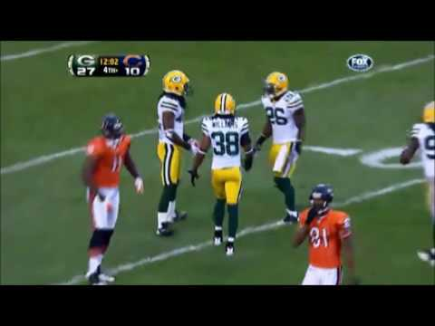 Every interception that Bears QB Jay Cutler has thrown against the Packers