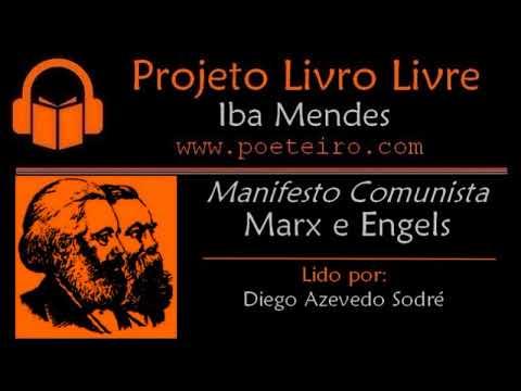 """""""Manifesto Comunista"""", de Marx e Engels (Audiolivro, lido por: Diego A. Sodré)"""
