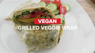 GoodLife Kitchen FoodLife: Grilled Vegan Wrap