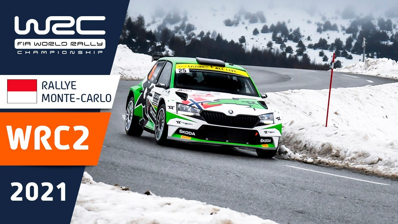 WRC2 - Rallye Monte-Carlo 2021: Friday Highlights