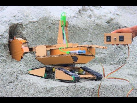 How To Make a Bucket Wheel Excavator - Remote control Bucket Wheel