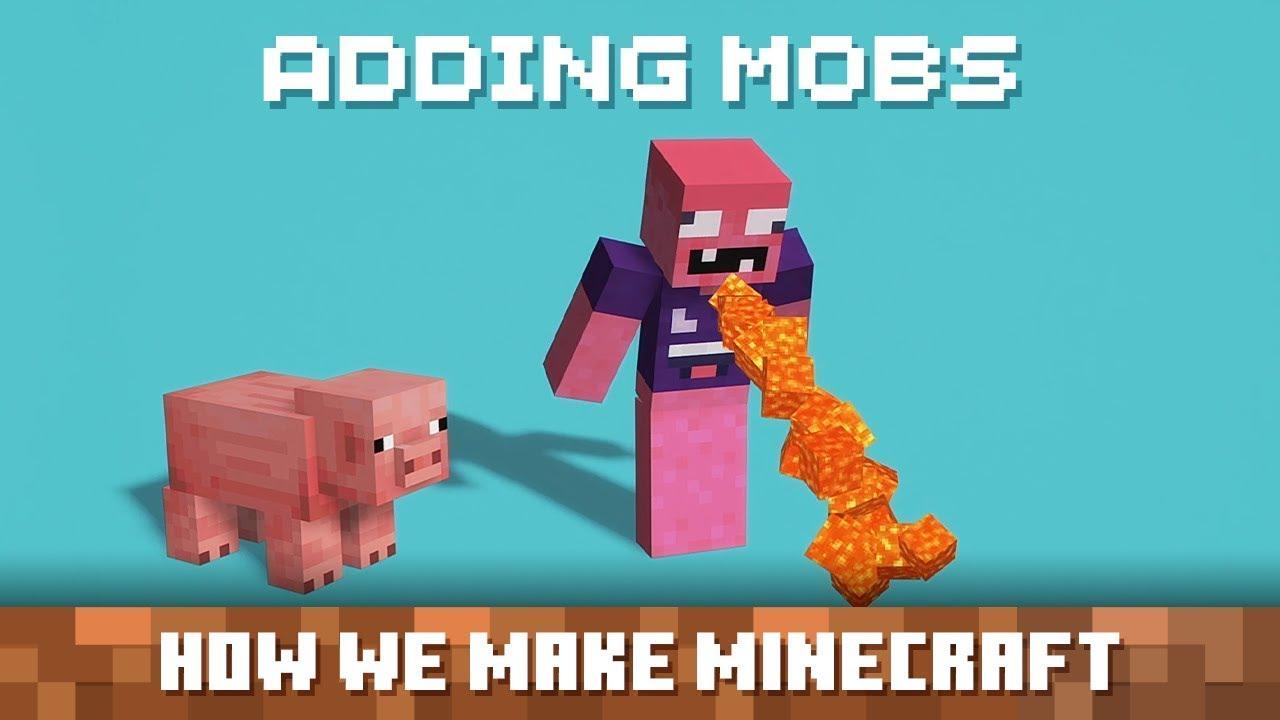 【Minecraft の作り方】新モブの追加