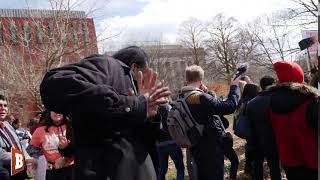 Nathan Phillips Runs Away From Question on Covington Students