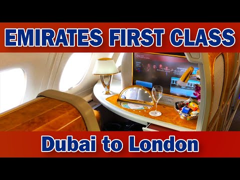 Emirates FIRST CLASS | Airbus A380-800 | Dubai to London Heathrow
