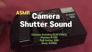 #14 Camera Shutter Sound ASMR …