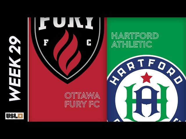 Ottawa Fury FC vs. Hartford Athletic: September 22, 2019