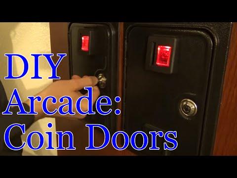 Arcade Build Part 3 | Coin Doors